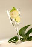 Limonata scintillante Fotografia Stock