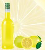 Limoncello stock abbildung