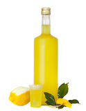 Limoncello royalty free stock images