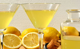 Limoncello Photo stock