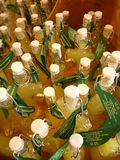 Limoncello bottles, Capri, Italy Royalty Free Stock Photo