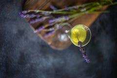 Limoncello italiano tradicional da bebida do alcoho imagem de stock royalty free