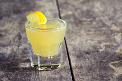 Limoncello Lemon Liqueur Royalty Free Stock Photography