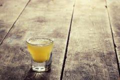Limoncello Lemon Liqueur Royalty Free Stock Image