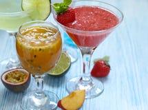 Limoncello raspberry cooler Stock Image