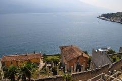 Limone,加尔达湖,意大利 免版税库存图片