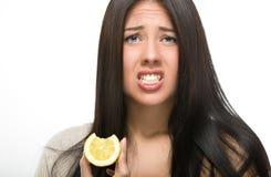 Limone acido immagine stock libera da diritti