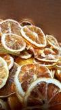 Limone arancio della calce della frutta asciutta Immagini Stock