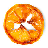 Limone caramellato della fetta Immagine Stock