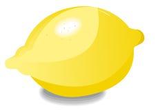 Limone da solo Fotografia Stock Libera da Diritti