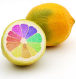 Limone del GMO fotografia stock