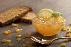 Limone della marmellata d'arance Fotografie Stock