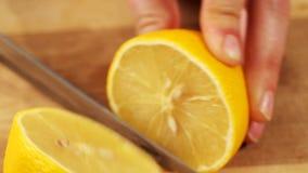 Limone di taglio video d archivio