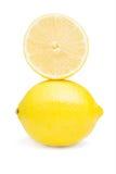 Limone e mezzo Immagine Stock