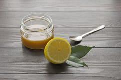 Limone e miele Fotografie Stock Libere da Diritti