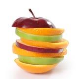 Limone ed arancio del Apple fotografie stock