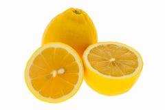 Limone fresco isolato Immagini Stock Libere da Diritti