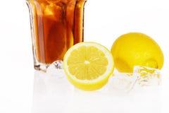 Limone in ghiaccio Immagini Stock