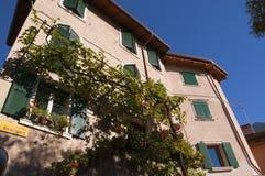 Limone an interesting town on Lake Garda Italy Royalty Free Stock Image