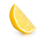 Limone isolato Immagini Stock Libere da Diritti