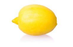 Limone isolato con ombra Fotografia Stock