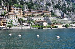 Limone, Lake Garda, Italy Stock Images