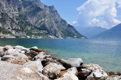 Limone, Lake Garda, Italy Royalty Free Stock Images