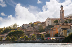 Limone on Lake Garda Italy Stock Images