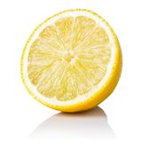 Limone mezzo Fotografia Stock