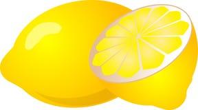 Limone mezzo royalty illustrazione gratis