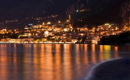 Limone by night Royalty Free Stock Photo