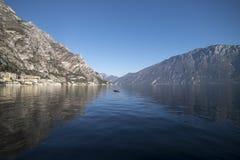 Limone par le lac garda du port Photo libre de droits