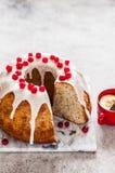Limone Poppy Seed Bundt Cake immagine stock