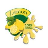 Limone realistico Immagini Stock