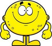 Limone sorridente del fumetto Immagine Stock