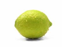 Limone su bianco Immagine Stock