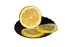 Limone su una zolla Immagini Stock Libere da Diritti