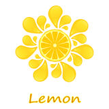 Limone succoso Immagini Stock