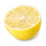 Limone sugoso maturo giallo fotografie stock libere da diritti