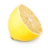 Limone sugoso maturo giallo fotografie stock