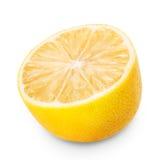 Limone sugoso maturo giallo fotografia stock libera da diritti