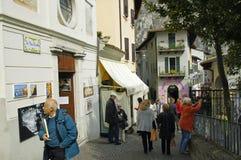 Limone sul Garda Fotografering för Bildbyråer
