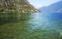 Limone sul Garda i jezioro Garda Zdjęcia Stock