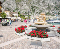 Limone Sul Garda Stock Photo