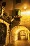 Limone sul Garda in Italy Stock Photo