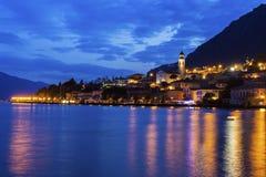 Limone sul Garda in Italy Royalty Free Stock Photos