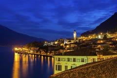 Limone sul Garda in Italy Stock Photography