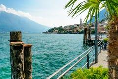 Limone sul Garda, Jezioro Lago Di Garda, Obrazy Stock
