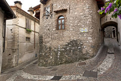 Limone sul Garda, Lago di Garda, Italy. Stock Images