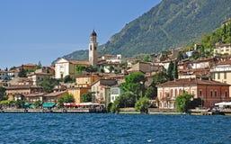 Limone, sul Garda, lago Garda di Limone Fotografia Stock